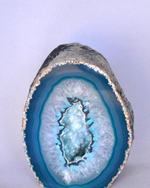 Blue Geode Stone