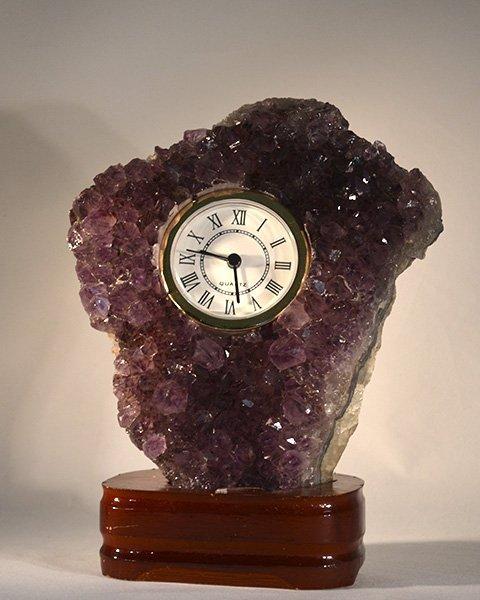 Dark Purple Amethyst Gemstone Watch